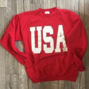 Tops - Vintage USA crewneck sweater